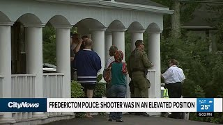 Victims identified, suspect charged in Fredericton shooting
