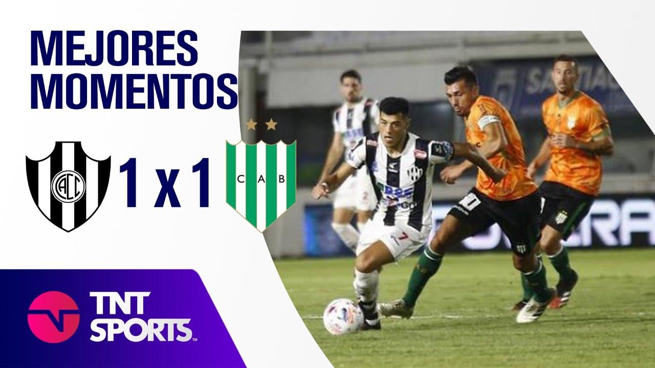 Resumen de Central Córdoba SE vs Banfield (1-1) | Zona A - F 4 - Copa LFP 2021