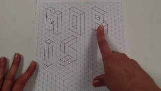 3D Isometric Letters Part 2