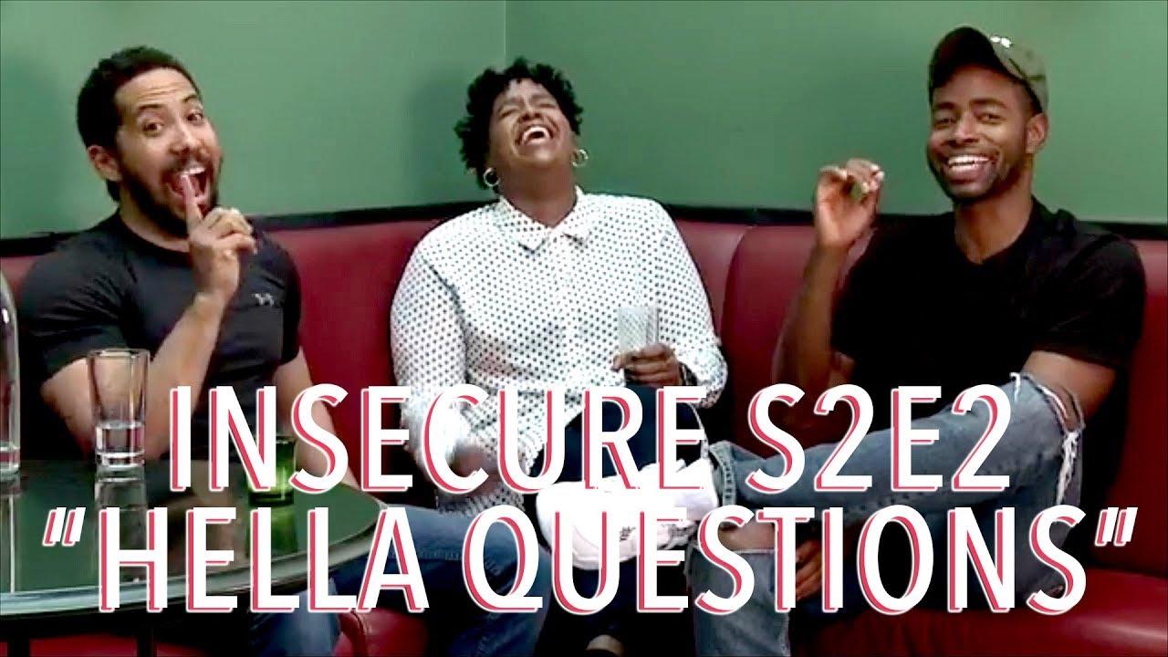 "Download Insecure Season 2 Ep 2 ""Hella Questions"" Discussion   Neil Brown Jr x Natasha Rothwell x Jay Ellis"