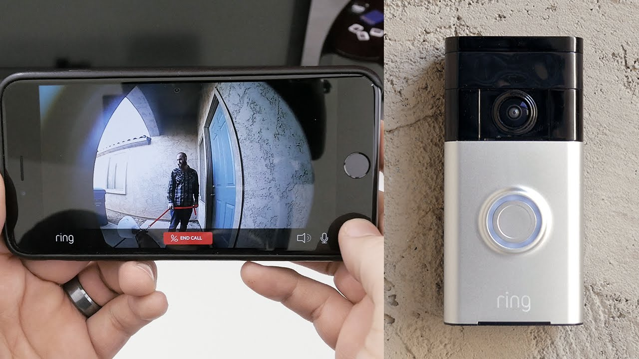 avis test portier video ring doorbell
