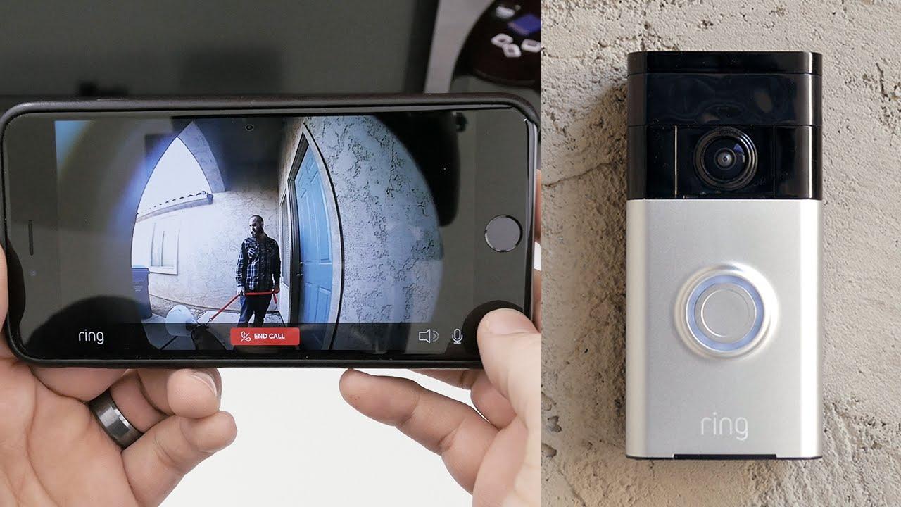 avis test portier video ring doorbell