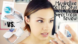 Maybelline Superstay Better Skin VS White Superfresh Powder Foundation   East VS West
