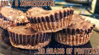 Download lagu High Protein Peanut Butter Cups   Healthy Bodybuilding Recipe