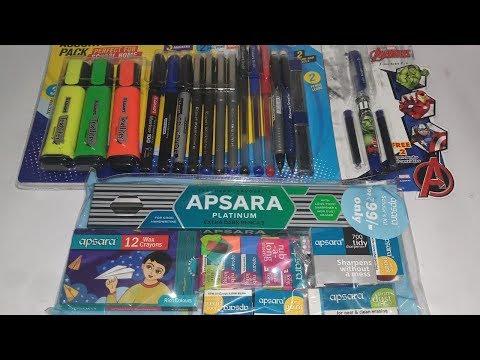 #art&craftkit Apsara scholar kit and Luxar Assorted comb pack pens  craft kit