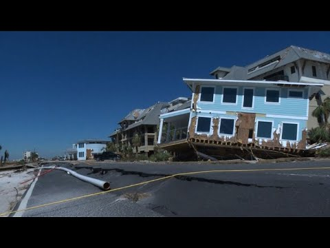 Florida Governor Esses Damage In Destroyed Mexico Beach