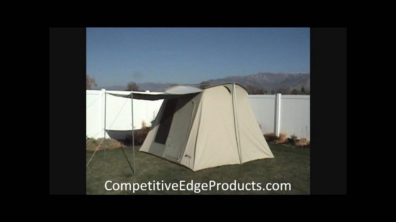 & Kodiak Canvas Tent 10x10 Setup - YouTube