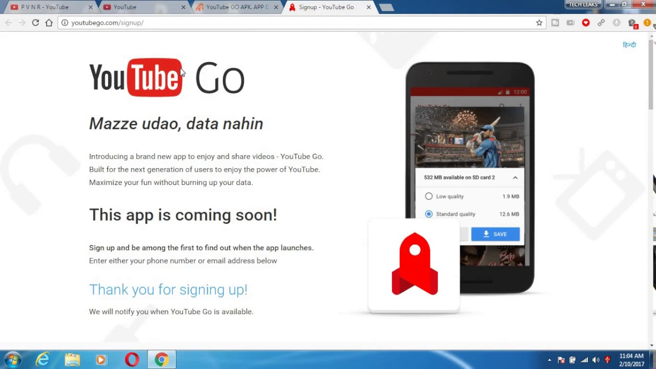 download youtube go apk
