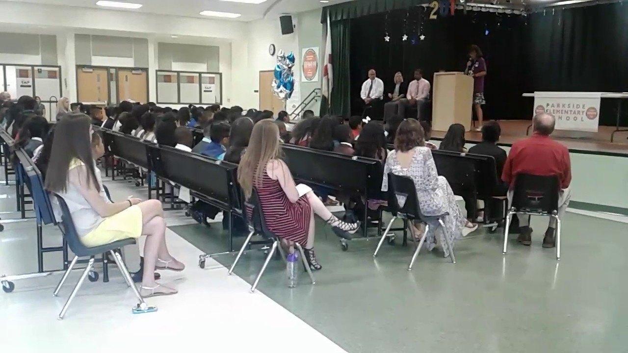 parkside elementary school graduation 2017 in naples florida youtube