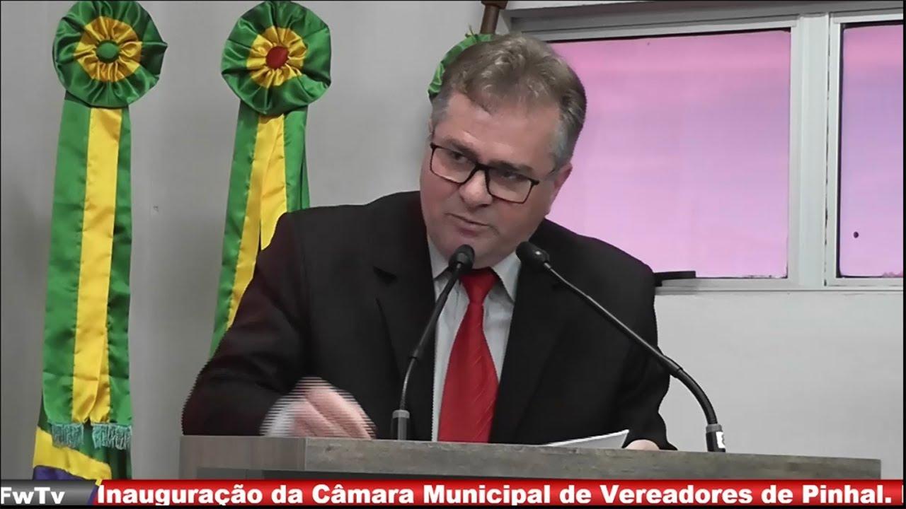 Inauguração da Câmara Municipal de Vereadores de Pinhal - 01