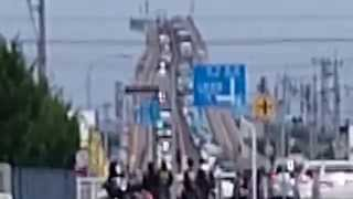 等倍速(早送りコマ送等一切なし。)ダイハツのCMの、べた踏み坂、江島大...