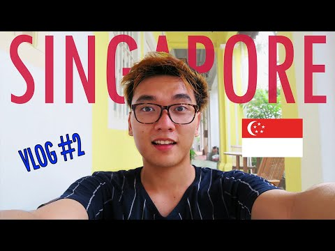 10 hours in Singapore [Orchid Road & Colonial Houses] | Singapore First Stop Vlog #2