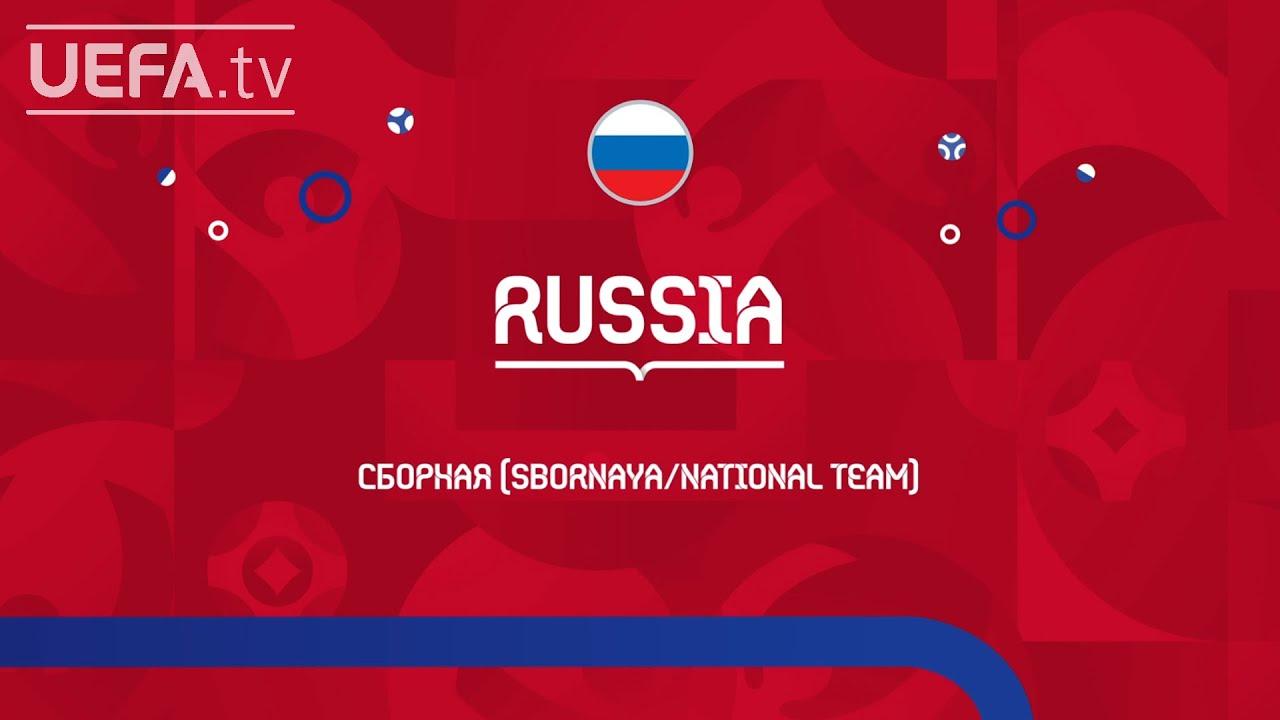 GOLOVIN, DZYUBA, CHERCHESOV   RUSSIA: MEET THE TEAM   EURO 2020