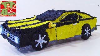 Рисуем с Игорьком 3D ручкой Машину CHEVROLET Camaro как Трансформер БАМБЛБИ Видео для детей