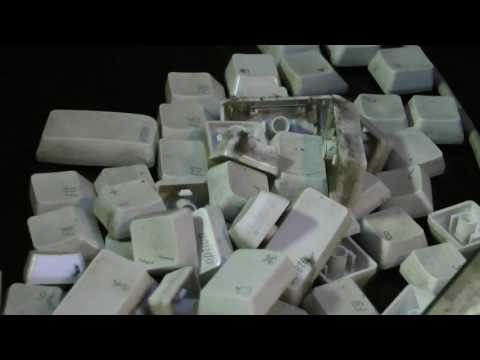 Apple Mac Keyboard Cleaning