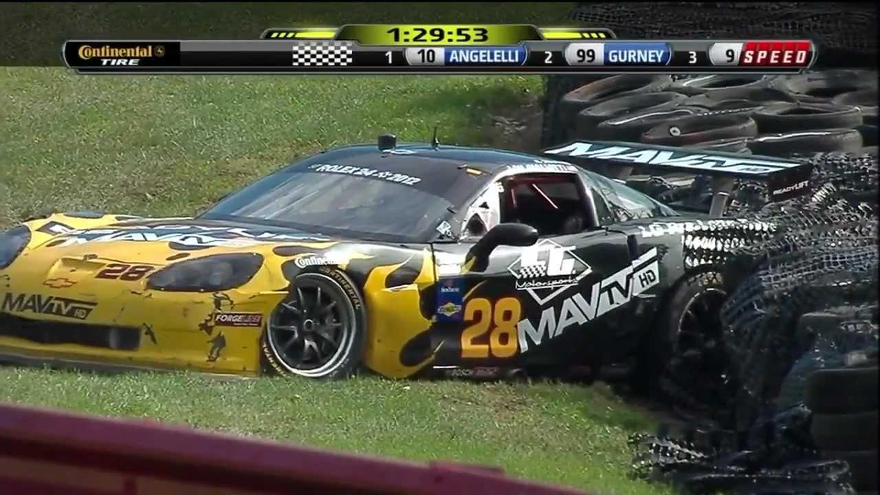 Elegant [HD] Grand Am Rolex Sports Car Series 2011   Crash (Mid Ohio Emco Gears)    YouTube