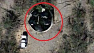 UFOなの何なの?グーグルアースにとらえられた黒の円盤型物体(米アリゾナ州)