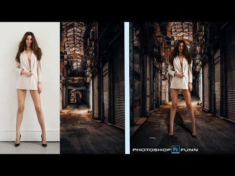 How to remove a background Photoshop Tutorial: #photoshop #photoshopfunn