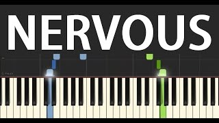 Nervous EASY Piano Tutorial (The Ooh Song) (Gavin James, Mark McCabe Remix)  Piano Tutorial by SPW