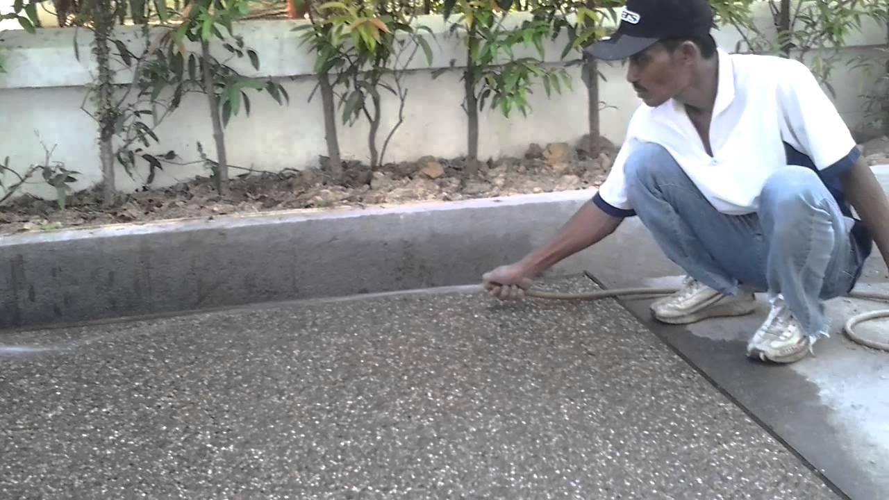 How To Get Concrete Of Car