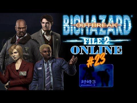 "Resident Evil Outbreak File#2: ""Showdown 3"" Scenario Online (Session 23)"