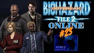 "Resident Evil Outbreak File#2: (HD) ""Showdown 3"" Scenario Online! (01/20/2014)"