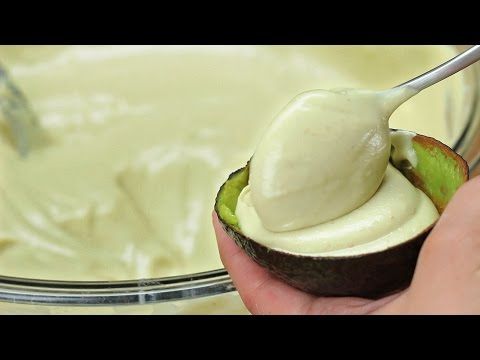 Avocado Strawberry Ice Cream