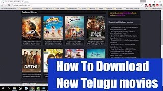 How To Download New Telugu Movie With Easy Way | Download New Movies |