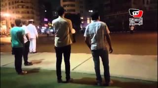 موكب «ملك البحرين» أثناء عبوره من ميدان التحرير