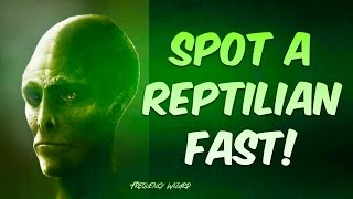 Break The Hypnotic Code Of Reptilians Fast! How To See & Spot Them