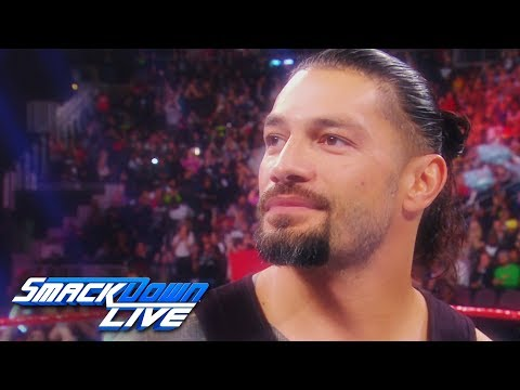 Relive Roman Reign\'s uplifting return from battling leukemia: SmackDown LIVE, Feb. 26, 2019