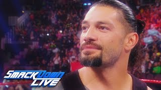 Relive Roman Reign's uplifting return from battling leukemia: SmackDown LIVE, Feb. 26, 2019
