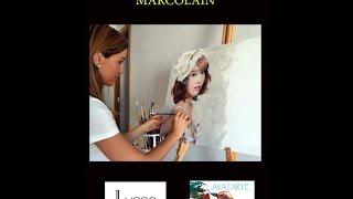Exposición de la pintora Noelia Marcolain en el Hotel Lusso Infantas