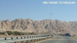 Abu Dhabi, UAE to Salalah, Oman 2018 - 1300 KM Drive