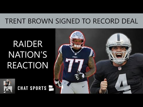 Trent Brown Signing Reaction From Raiders Fans & Mailbag: Donald Penn, DK Metcalf & Quinnen Williams