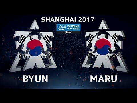 StarCraft II - ByuN vs. Maru [TvT] - Group D - IEM Shanghai 2017