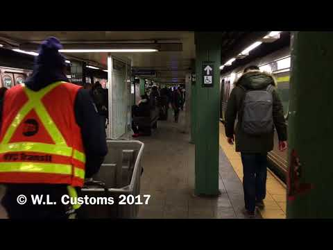 Action at 14th Street-Union Square, Manhattan (Featuring R46s, R160A/Bs along the BMT Broadway Line)