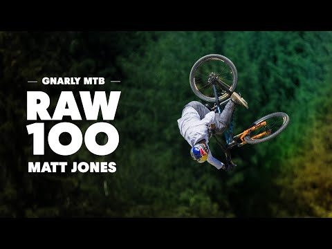 100 seconds of the gnarliest ever MTB course with Matt Jones.  Raw 100