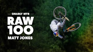 100 seconds of the gnarliest ever MTB course with Matt Jones. | Raw 100