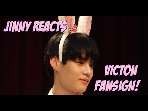 [jinny-reacts]-victon-fansign-experience!!