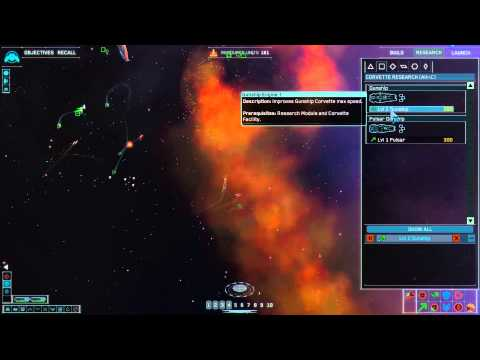 Homeworld 2 Remastered: Mission 3 (Sarum - Fleet Staging Are
