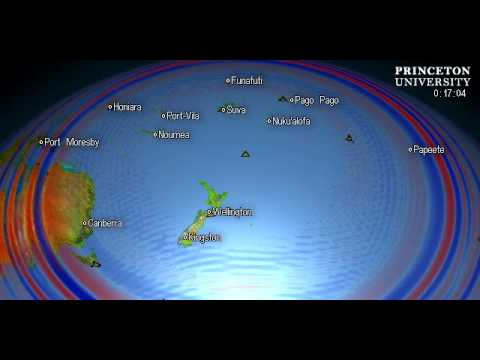 Magnitude 6.1 Quake, KERMADEC ISLANDS, NEW ZEALAND