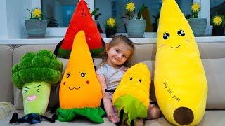 Кира новая серия про правильное питание. Или как накормить ребенка овощами.