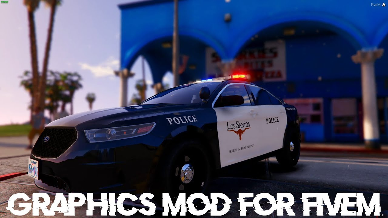 ✪New Amazing Graphics Mod for FiveM! Redux+NVR+Other Mods✪ (Quick Showcase)