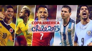 Promo - Copa América Chile 2015 - El Corazón Del Fútbol.