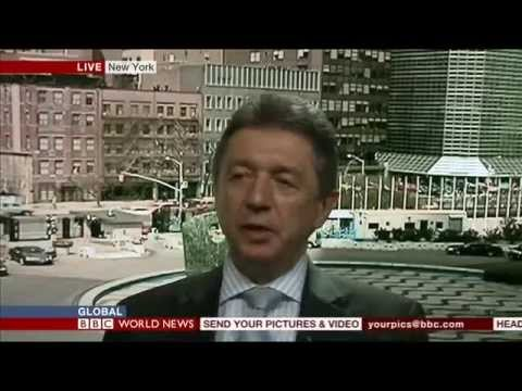 Ukrainian Ambassador to the UN, Yuriy Sergeyev, talks to BBC World 14 April 2014