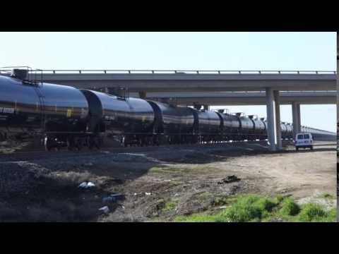 Crude Oil Train In Kern County
