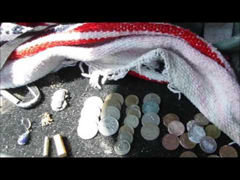 Beach Metal Detecting Santa Monica CA 6/4/16