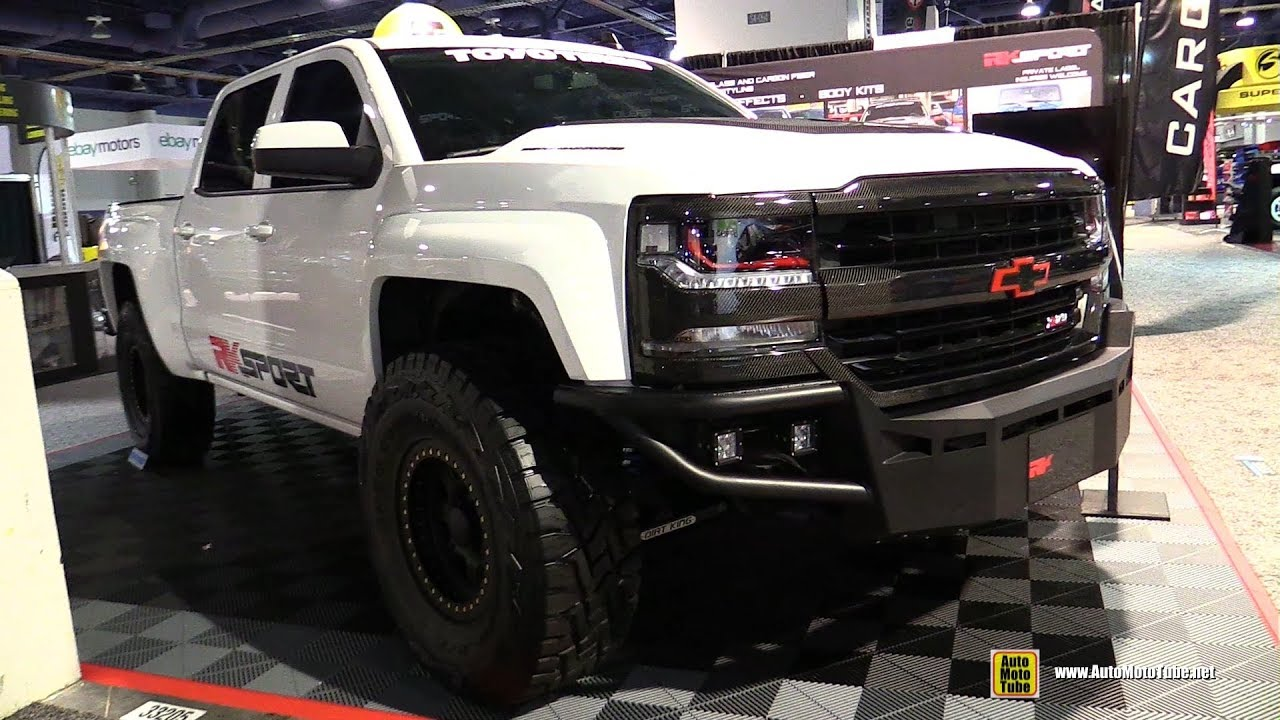 2017 Chevrolet Silverado 1500 Rk Sport Customized Walkaround Sema