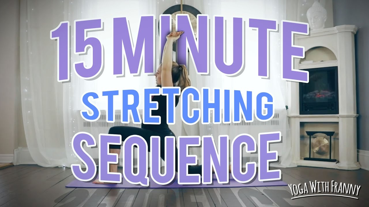 15 Minute Stretching Sequence for Tight Legs and Hips